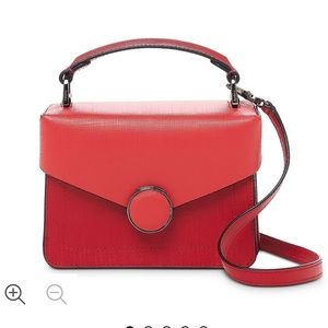 Botkier red leather bag